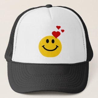 Smiley in Liefde Trucker Pet