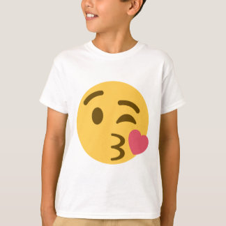 Smiley Kiss Emoji T Shirt