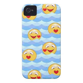 Smiley van de golf iPhone 4 hoesje
