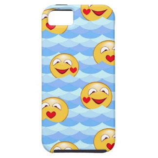 Smiley van de golf tough iPhone 5 hoesje