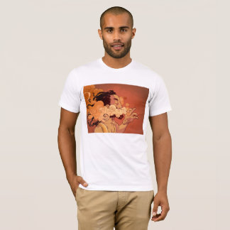 smokin verdovend middel t shirt