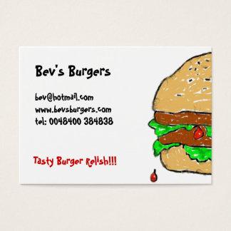 Smudgy Visitekaartjes van de Hamburger
