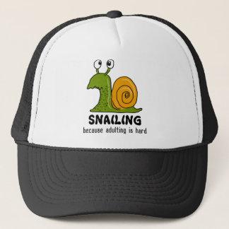 Snailing… omdat adulting hard is trucker pet