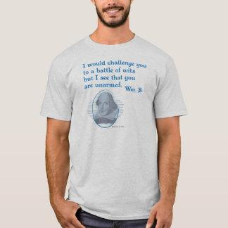 Snark Shakespeare ontwapende Verstand T Shirt