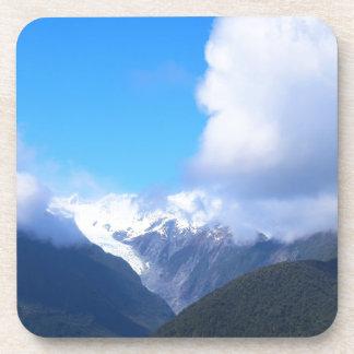 Sneeuw Bergen, de Gletsjer van Nieuw Zeeland, Onderzetter