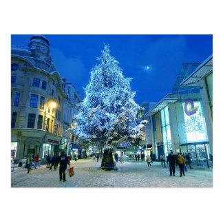 Sneeuw in Cardiff Briefkaart
