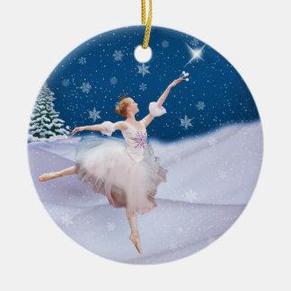 Sneeuw Koningin Ballerina Christmas Ornament