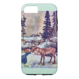 Sneeuw Koningin Sprookje met Rendier iPhone 7 Hoesje