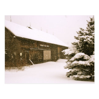 Sneeuw Vermont Briefkaart