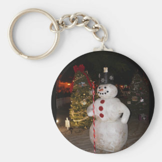 Sneeuwman & Kerstboom Keychain Sleutelhanger