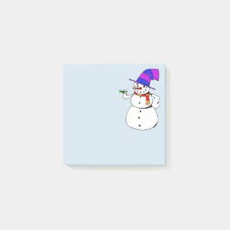 Sneeuwman Post-it® Notes