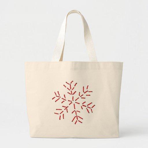 Sneeuwvlok - Rode Steken Tassen