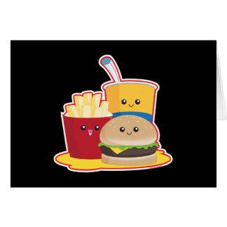 Snel Voedsel Briefkaarten 0
