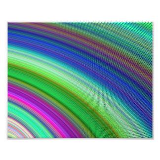 Snelle kleuren fotoprints