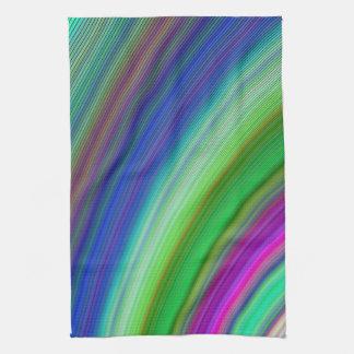 Snelle kleuren theedoeken
