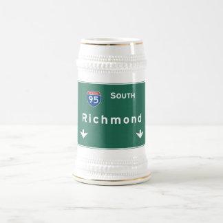 Snelweg de Tusen staten van de Weg van Richmond Bierpul