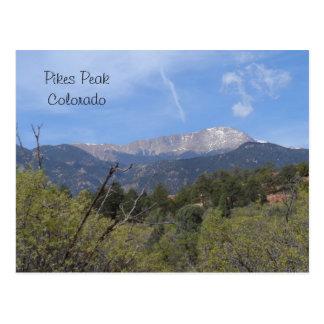 Snoeken PiekColorado Springs Briefkaart