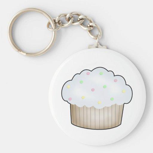 Snoep Cupcake Sleutelhangers