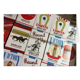 snoep sigaretten kaart
