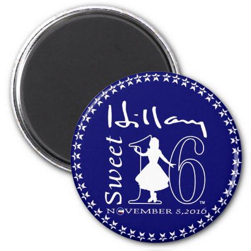 Snoepje 16 van Hillary Clinton Magneten