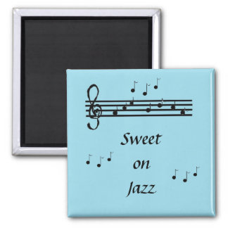 Snoepje op Jazz - magneet