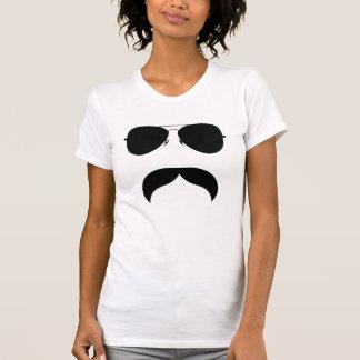 Snor met Glazen T Shirt