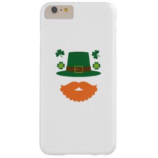 Snor met St. Patrick van de Klaver Dag Barely There iPhone 6 Plus Hoesje