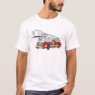 Snorkel de Cartoon van de Vrachtwagen van de Brand T Shirt