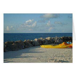 Snorkel het Strand de Bermudas van het Park Wenskaart