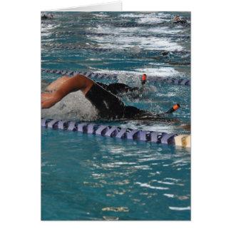 Snorkel Zwemmend Wenskaart