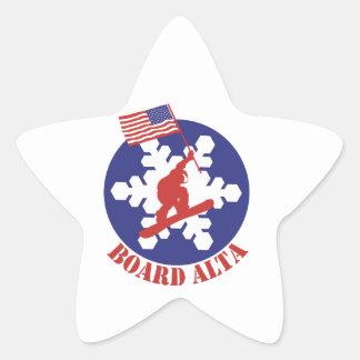 Snowboard Alta Ster Sticker