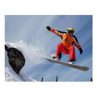 Snowboarder Briefkaart