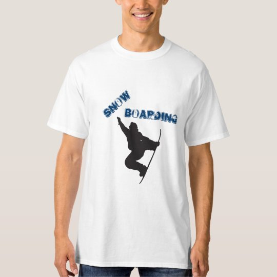 Snowboarding by Shirt to Design