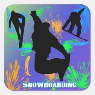 Snowboarding - Sticker Snowboarders