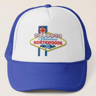 Snowmobiling/Onthaal aan Northwoods Trucker Pet