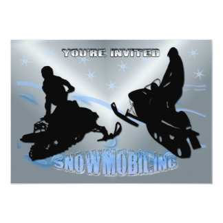 Snowmobiling - Uitnodiging Snowmobilers