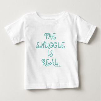 Snuggle is Echt babyt-shirt Baby T Shirts