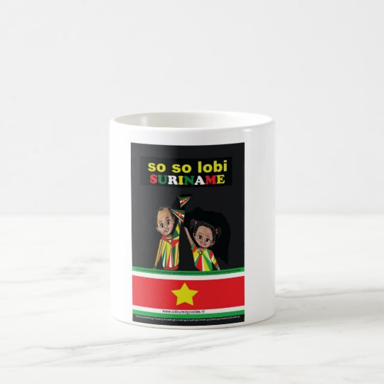 SO SO lobi Suriname Koffiemok