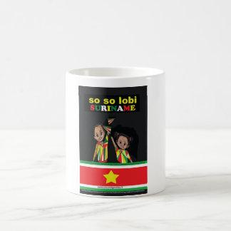SO SO lobi Suriname Koffie Beker