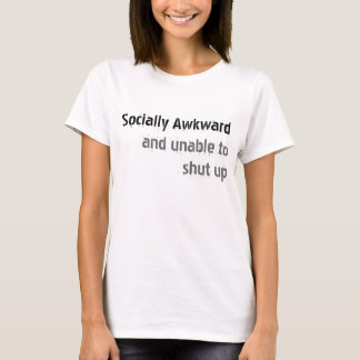 Sociaal Onhandig T Shirt