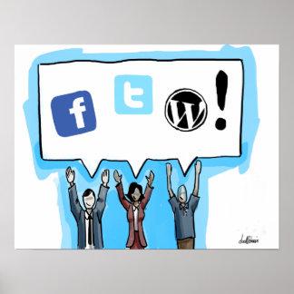 Sociale Media FTW! Poster