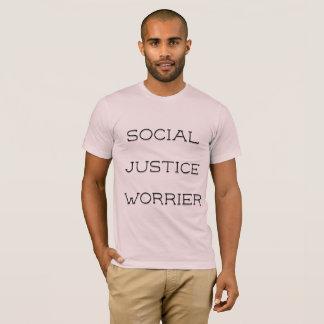 SOCIALE WORRIER VAN DE RECHTVAARDIGHEID T SHIRT
