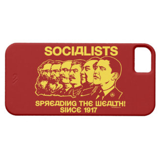 Socialisten: Het uitspreiden van de Rijkdom Barely There iPhone 5 Hoesje