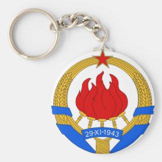 Socialistische Bondsrepubliek van het Embleem van Sleutelhanger