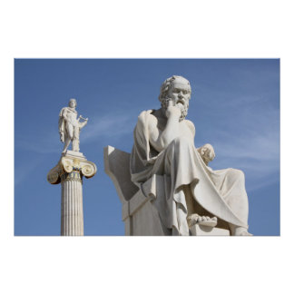 Socrates - en het Poster van Apollo