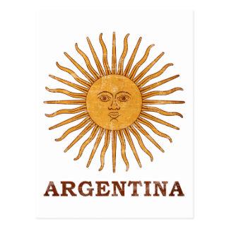 Sol DE Mayo Argentinië Briefkaart