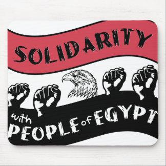 Solidariteit met Inwoners van Egypte mousepad Muismat