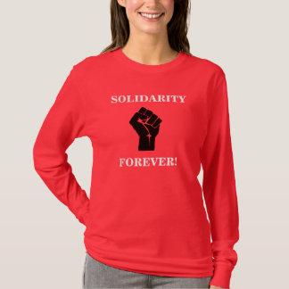 Solidariteit voor altijd t shirt