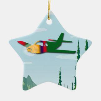 Solo Vlucht Keramisch Ster Ornament