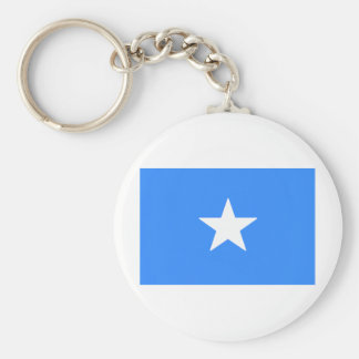 Somalië Basic Ronde Button Sleutelhanger
